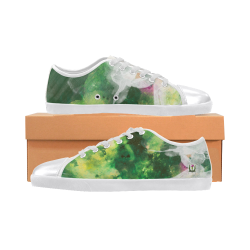 King Kai Gear Grunge Forever Collection- Canvas Shoes for Women/Large Size (Model 016) Canvas Shoes for Women/Large Size (Model 016)