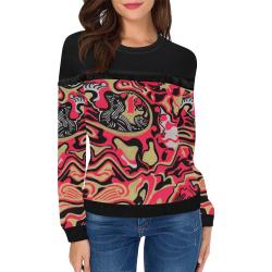 estored order Women's Fringe Detail Sweatshirt (Model H28)