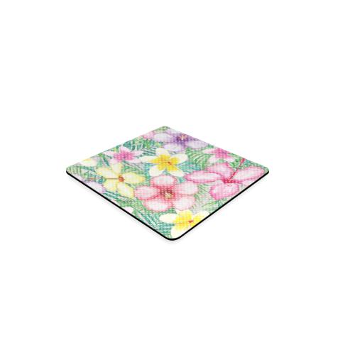 Hawaiian Flowers II Square Coaster
