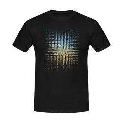 Abstract Men's T-Shirt in USA Size (Front Printing Only)