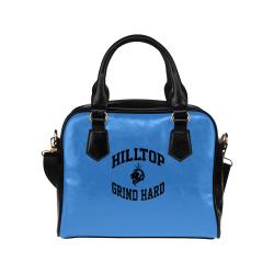 HillTop Grind Hard Blue Purse Shoulder Handbag (Model 1634)