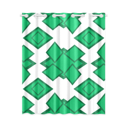"Abstract geometric design New Window Curtain 52"" x 63""(One Piece)"