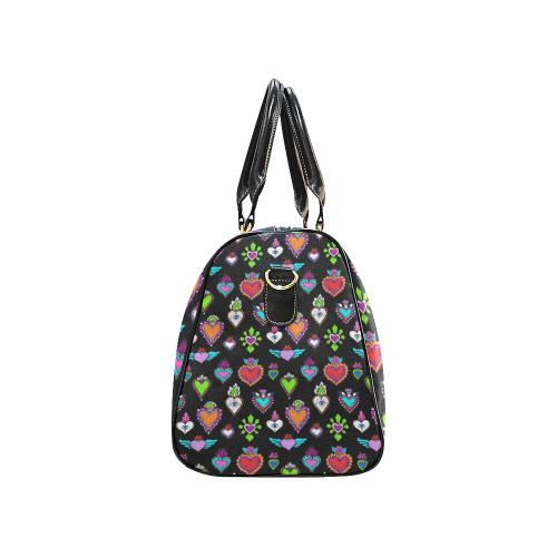 SACRED HEART - EX VOTO - Rainbow New Waterproof Travel Bag/Small (Model 1639)