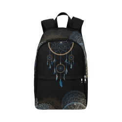 Dreamcatcher Fabric Backpack for Adult (Model 1659)