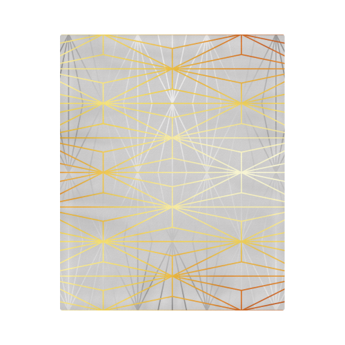 "ELEGANT SILVER GOLD DIAMONDS-1B2 Duvet Cover 86""x70"" ( All-over-print)"