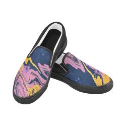 YBP Men's Unusual Slip-on Canvas Shoes (Model 019)
