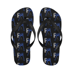 Pugapalooza 2020 Flip Flops Flip Flops for Men/Women (Model 040)