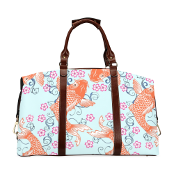 KOI FISH 2 Classic Travel Bag (Model 1643) Remake