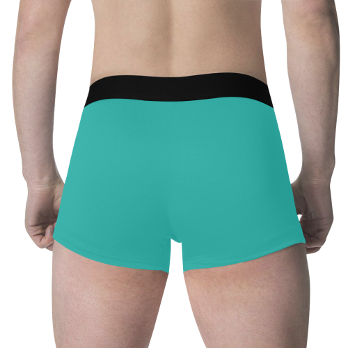 color light sea green Men's All Over Print Boxer Briefs (Model L34)