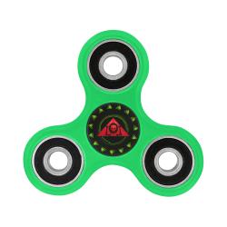 The Lowest of Low Triangle Skull Rose Logo Fidget Spinner