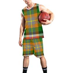 ALABAMA STATE TARTAN All Over Print Basketball Uniform