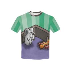Dumb Cat Kids' All Over Print T-shirt (USA Size) (Model T40)
