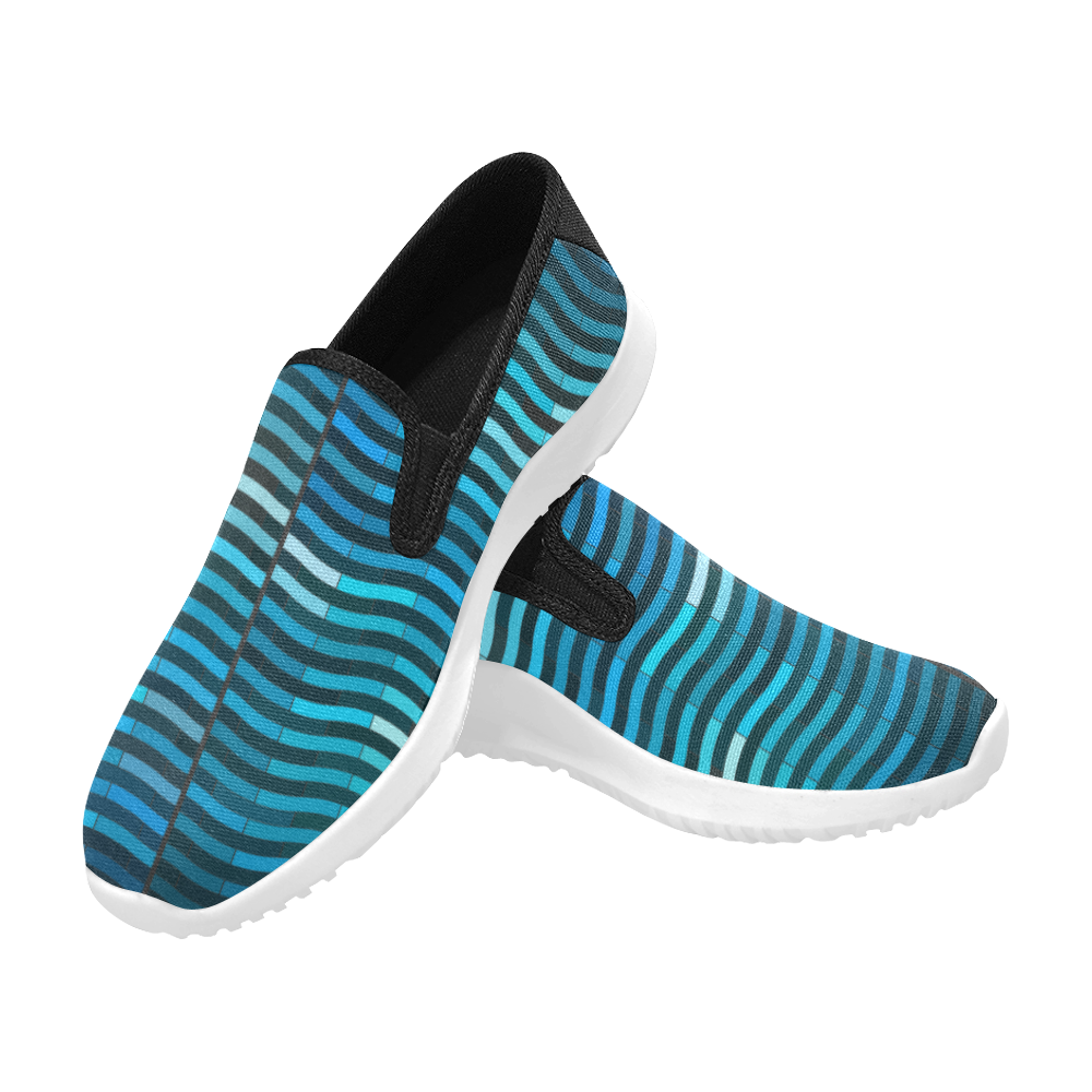 bluewave Orion Slip-on Men's Canvas Sneakers (Model 042)
