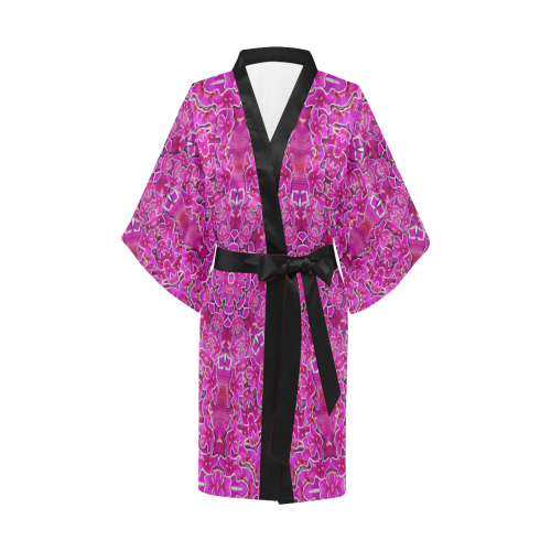 flowering and blooming to bring happiness Kimono Robe