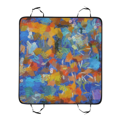 Colorful paint strokes New Pet Car Seat 55''x58''