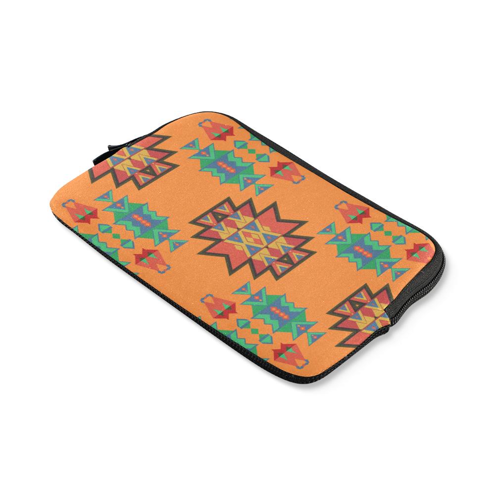 Misc shapes on an orange background iPad mini