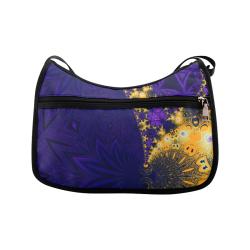 Twilight Jungle Leaves Crossbody Bags (Model 1616)