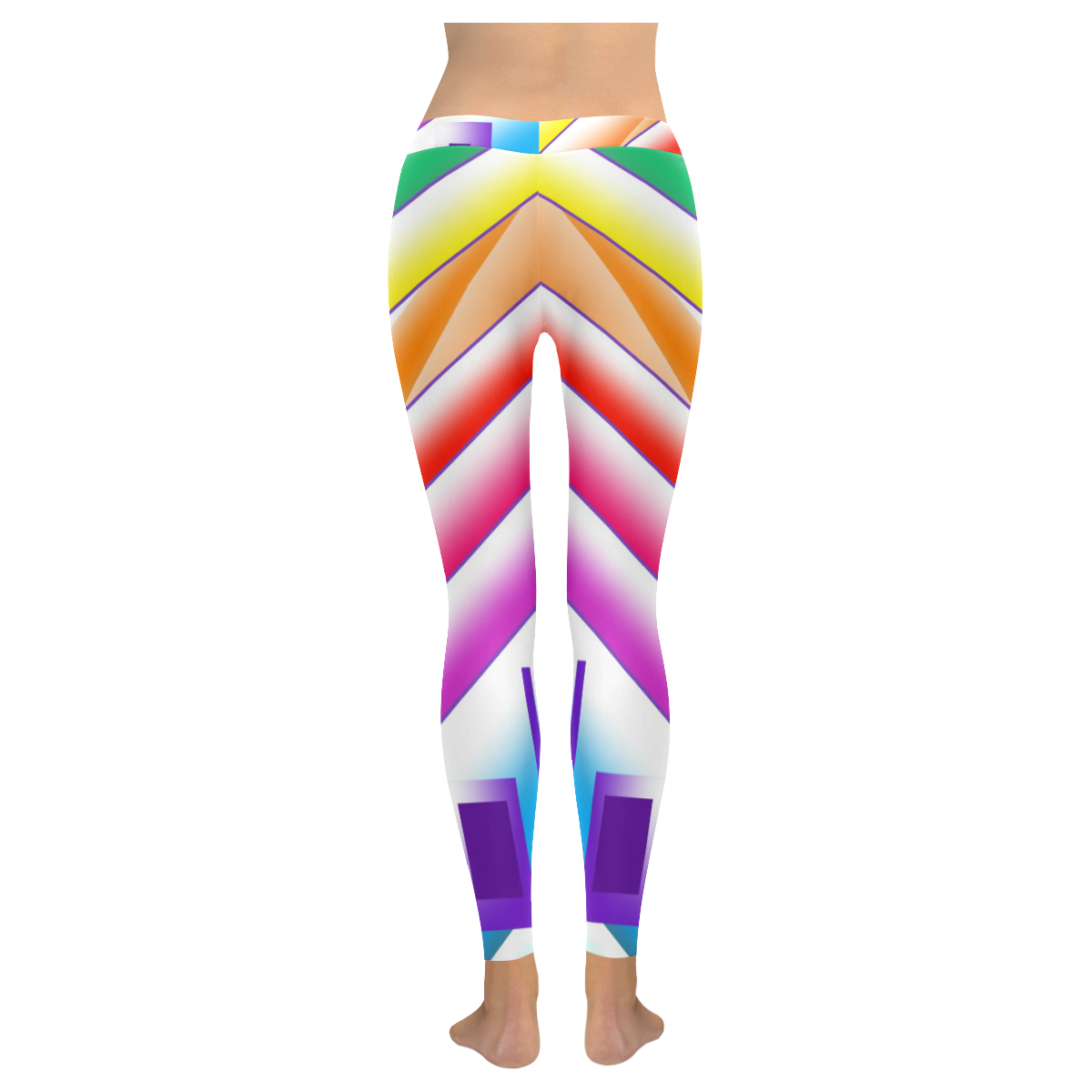 Wonderful Day Low Rise Leggings (Invisible Stitch) (Model L05)