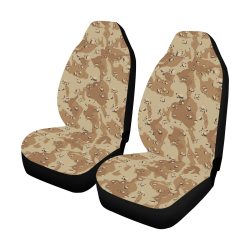 Desert Camouflage Pattern Car Seat Covers (Set of 2)