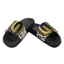 VIP LCC GOLD Women's Slide Sandals (Model 057)