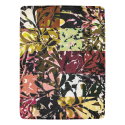 "Foliage Patchwork #6A - Jera Nour Ultra-Soft Micro Fleece Blanket 60""x80"""