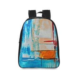 oil_h School Backpack/Large (Model 1601)