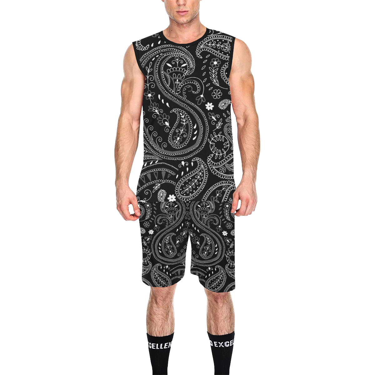 PAISLEY 7 All Over Print Basketball Uniform