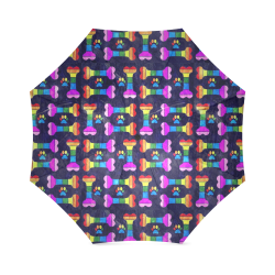 Pride Bones by Nico Bielow Foldable Umbrella (Model U01)