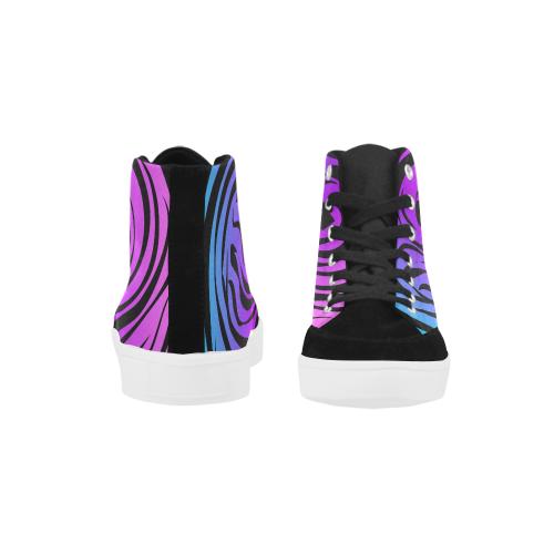 Marmoleado Herdsman High Top Shoes for Women (Model 038)