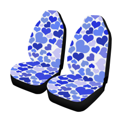 Heart_20170111_by_JAMColors Car Seat Covers (Set of 2)