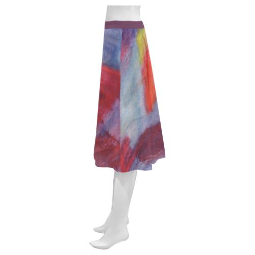 Colour Harmony Mnemosyne Women's Crepe Skirt (Model D16)