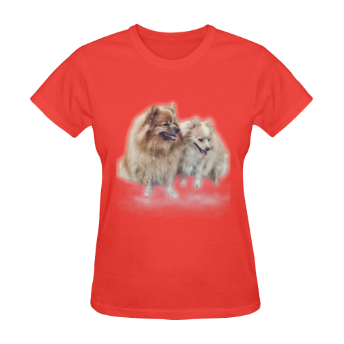 spitz Sunny Women's T-shirt (Model T05)