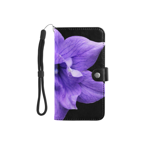 Balloon Flower Flip Leather Purse for Mobile Phone/Small (Model 1704)