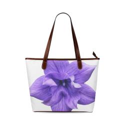Balloon Flower Shoulder Tote Bag (Model 1646)