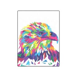"Rainbow Eagle Blanket 50""x60"""