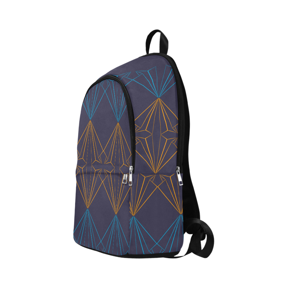 paper planes blu Fabric Backpack for Adult (Model 1659)