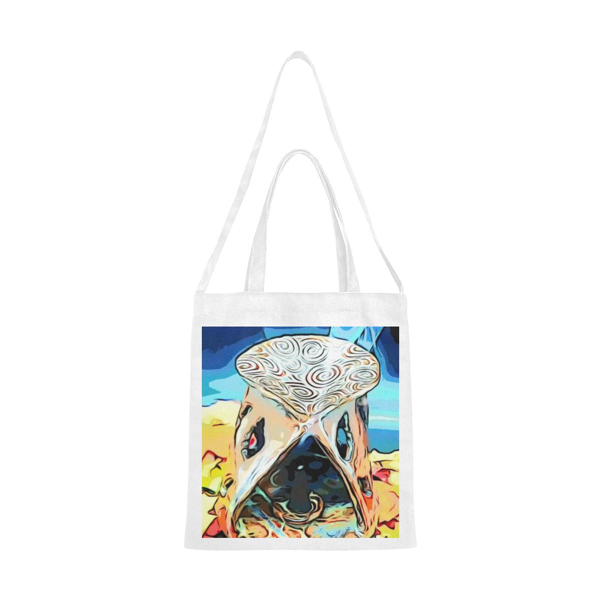 Flame Canvas Tote Bag/Medium (Model 1701)