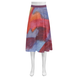 Colour Harmony Mnemosyne Women's Crepe Skirt (Model D16)