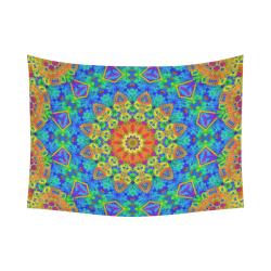"Festiva Cotton Linen Wall Tapestry 80""x 60"""