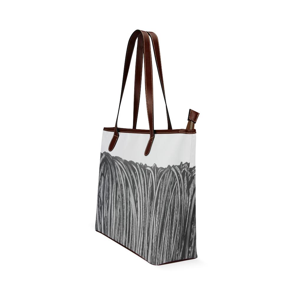 rope Shoulder Tote Bag (Model 1646)