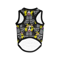 Miss Gothica Sugarskull dog coat All Over Print Pet Tank Top