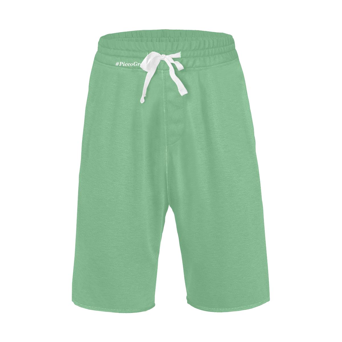 Rodger Safari green Men's All Over Print Casual Shorts (Model L23)