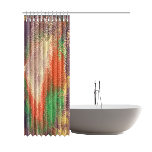 """colorful Abstract Shower Curtain 72""""x84"""""""