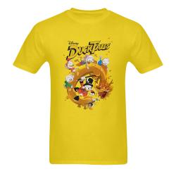 DuckTales Sunny Men's T- shirt (Model T06)