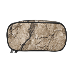 Tree Bark B by JamColors Pencil Pouch/Large (Model 1680)