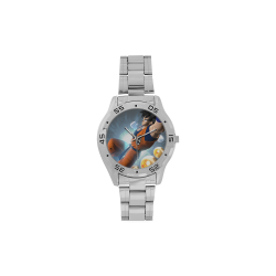 Power Z Kai Men's Stainless Steel Analog Watch(Model 108)