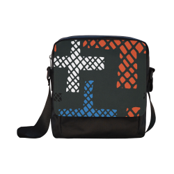bolsa unisex diseño cruces Crossbody Nylon Bags (Model 1633)