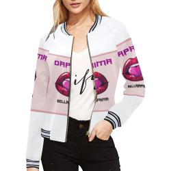 DAPRIMA JACKETS All Over Print Bomber Jacket for Women (Model H21)