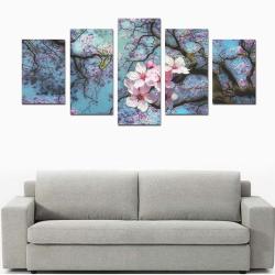 Cherry blossomL Canvas Print Sets D (No Frame)