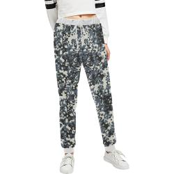 Urban City Black/Gray Digital Camouflage Unisex All Over Print Sweatpants (Model L11)